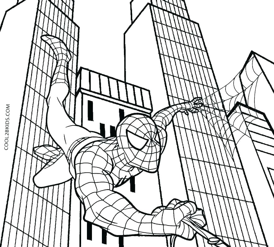 882x794 Spiderman Coloring Pages Coloring Page Amazing Coloring Pages