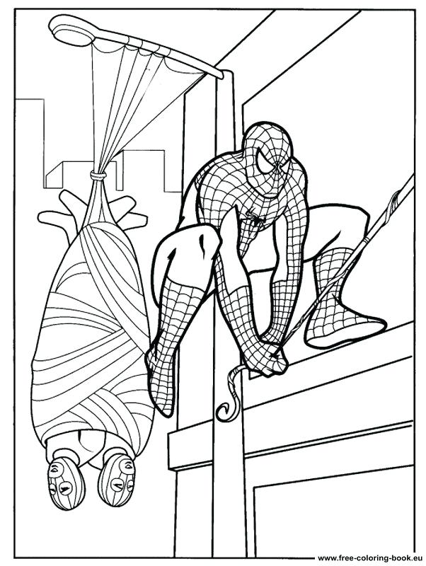 602x800 Spiderman Coloring Pages Coloring Pages Spiderman Coloring
