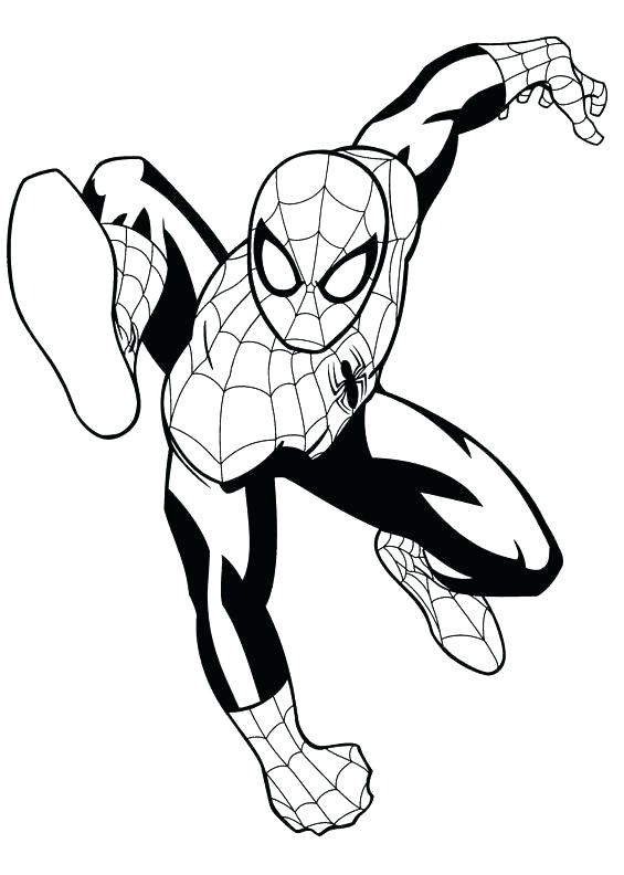 565x792 Spiderman Coloring Page Printable Ultimate Coloring Pages