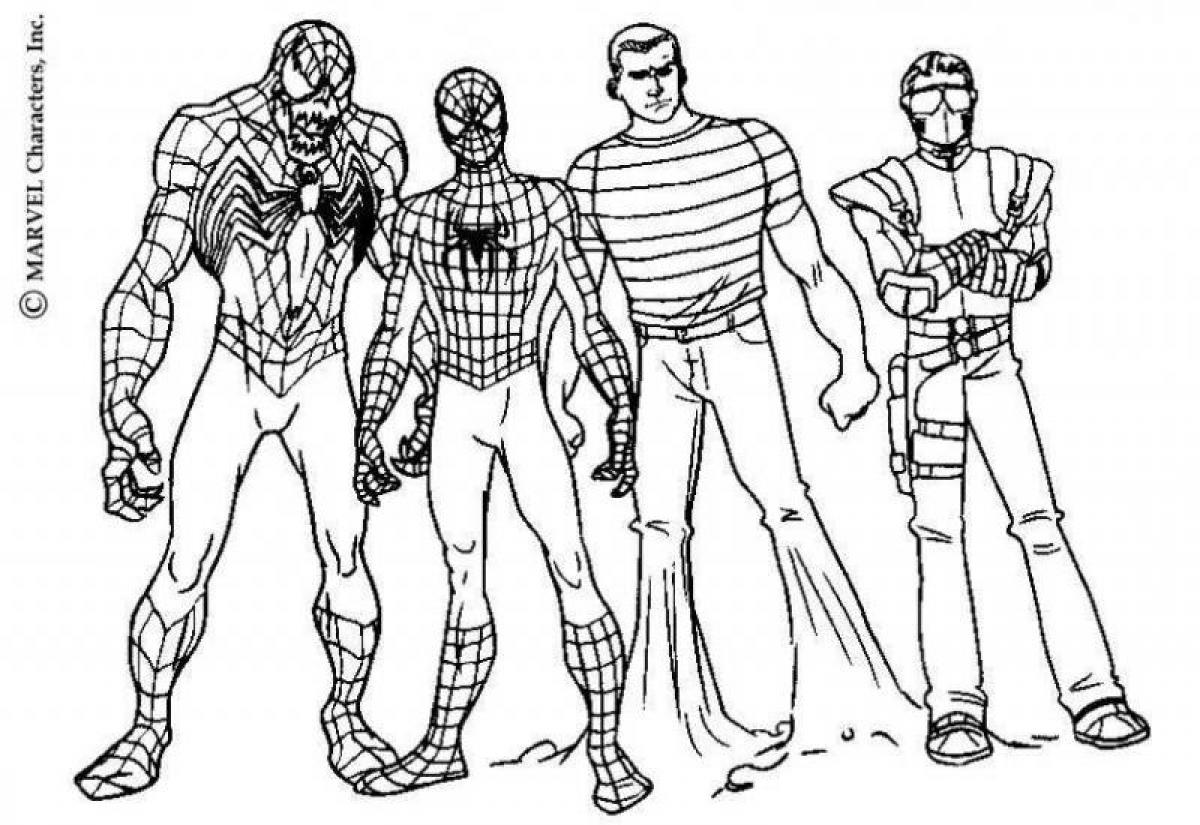 1200x825 Spiderman Coloring Pages
