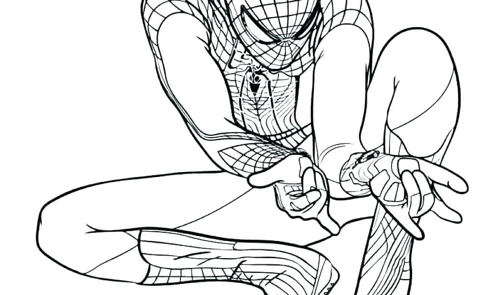 1024x600 Ultimate Spider Man Coloring Pages Spider Man Coloring Pictures