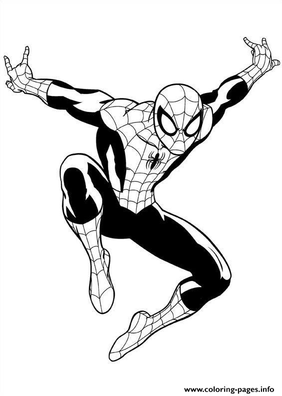 565x792 Ultimate Spiderman Coloring Pages Printable