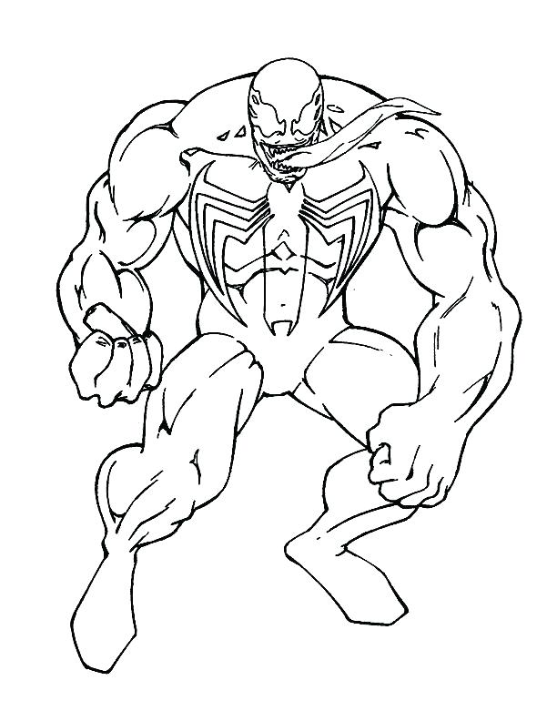 612x792 Spiderman Venom Coloring Pages Spiderman Coloring Pages