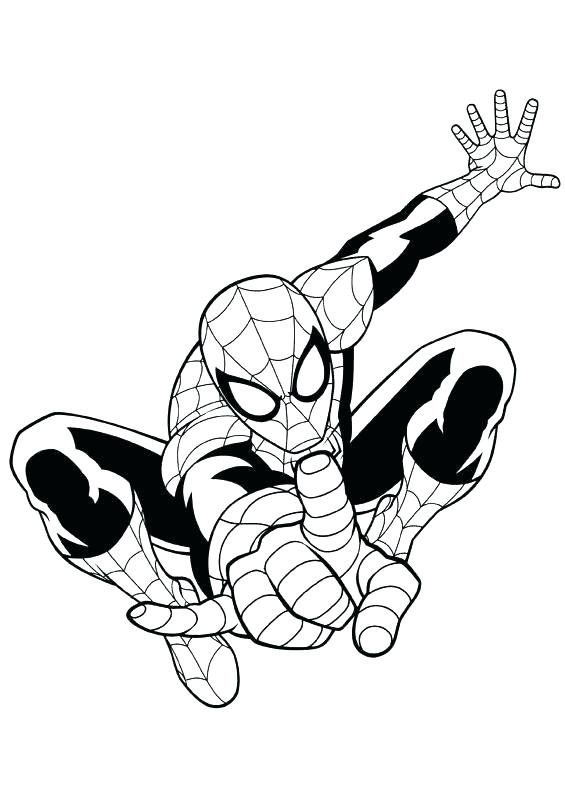 565x792 Free Printable Spiderman Coloring Pages Spider Man Page Ultimate