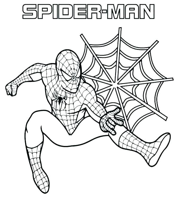 599x679 Spiderman Coloring Book Coloring Books And Coloring Book