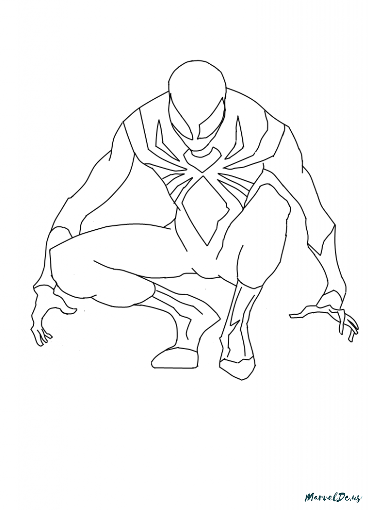 721x992 Seven Features Of Iron Spider Heroes Of Marvel And Dc