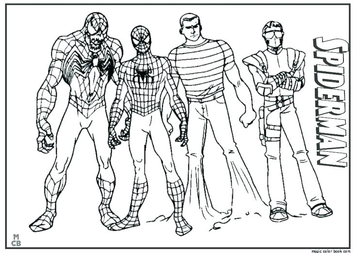 736x522 Spiderman Coloring Pages Printable Black Coloring Pages Top Rated