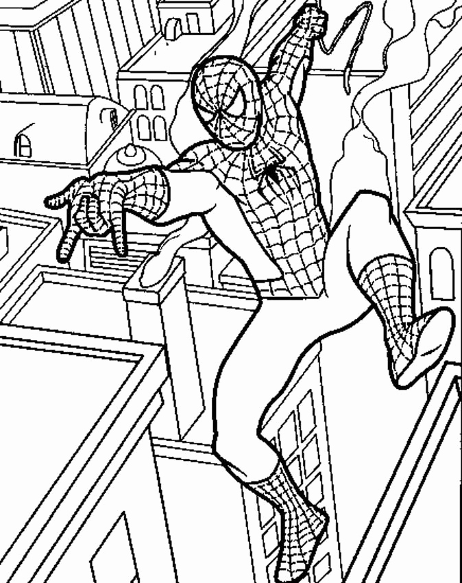 Spiderman Cartoon Coloring Pages at GetDrawings | Free ...