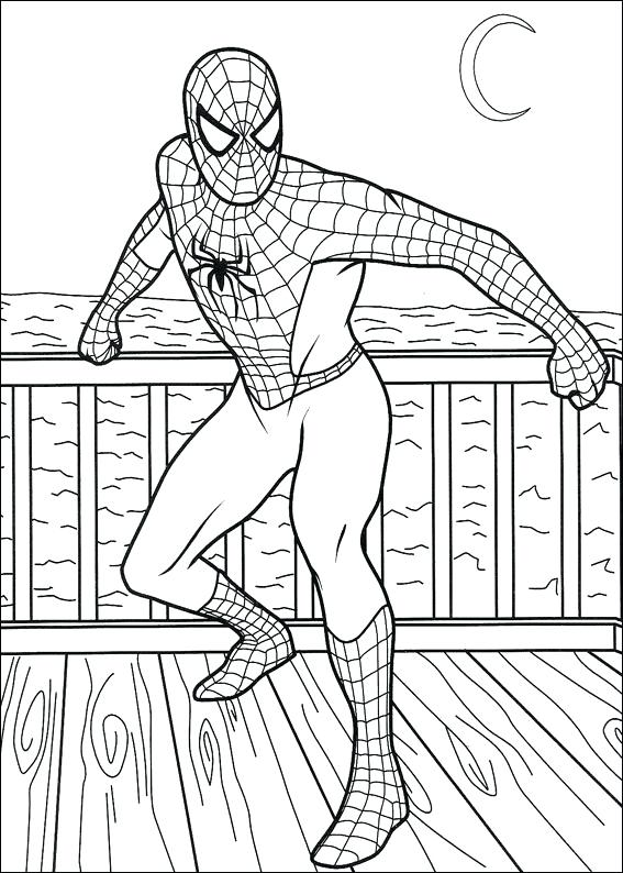 567x794 Spiderman Coloring Pages Coloring Pages For Kids Spiderman