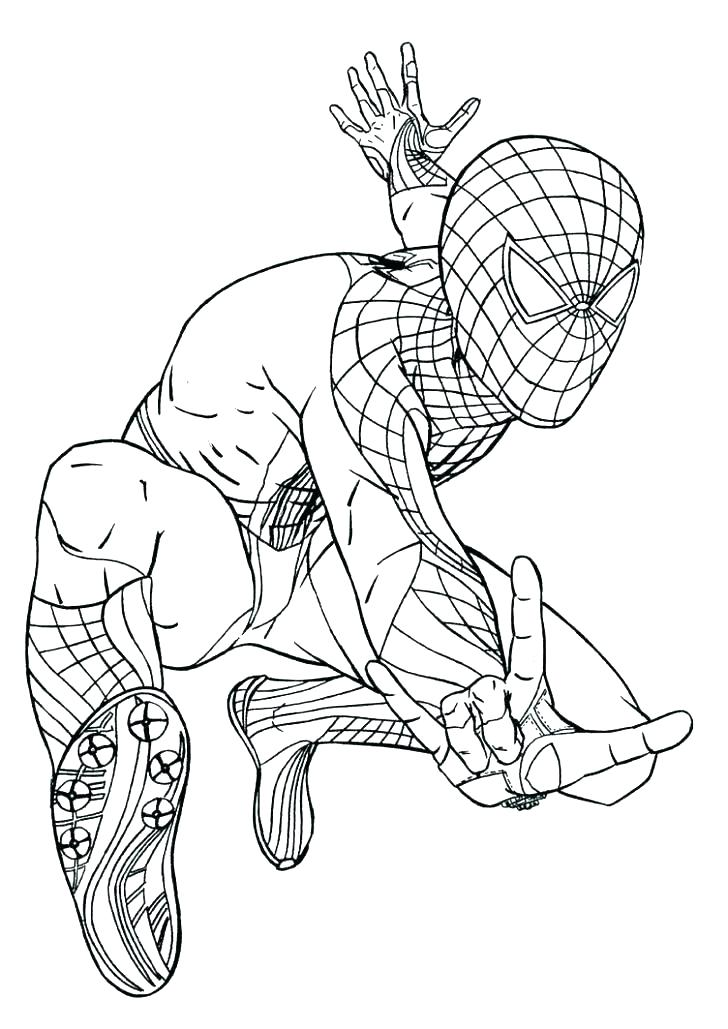 728x1029 Spiderman Coloring Pages Online Coloring Pages Coloring Spiderman