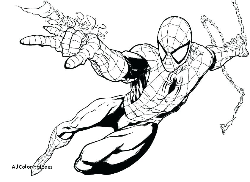 Spiderman Coloring Pages Pdf at GetDrawings.com | Free for ...