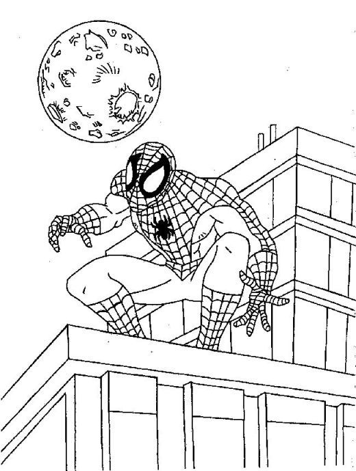 520x688 Spiderman Coloring Pages Pdf Kid Crafts Spiderman