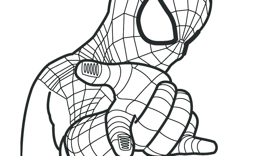 960x544 Ultimate Spider Man Coloring Pages Ultimate Spider Man Coloring