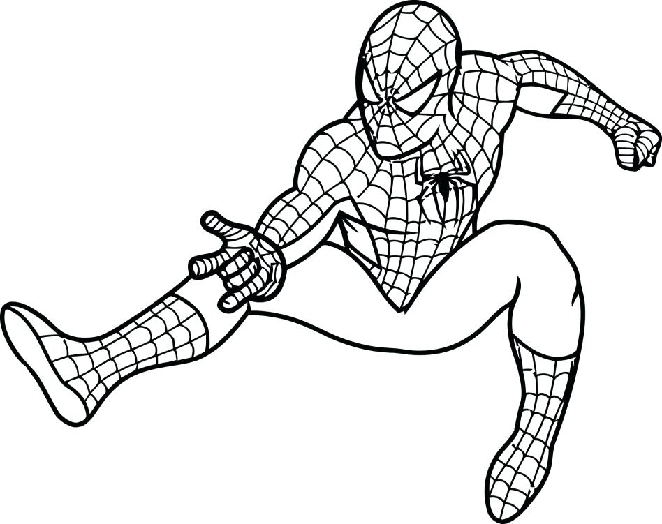 948x751 Spider Man Color Pages Ultimate Spider Man Coloring Pages