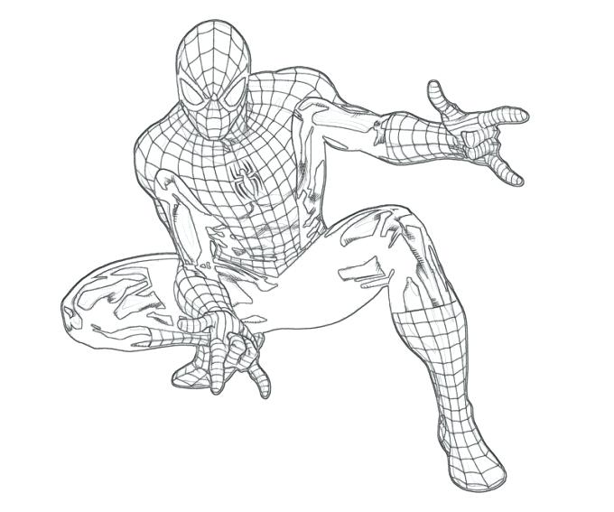 680x567 The Amazing Spider Man Coloring Pages The Amazing Spider Man