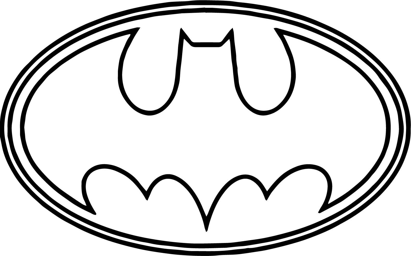 1579x984 Coloring Pages Of Spiderman Symbol Eliolera Com With Batman Logo