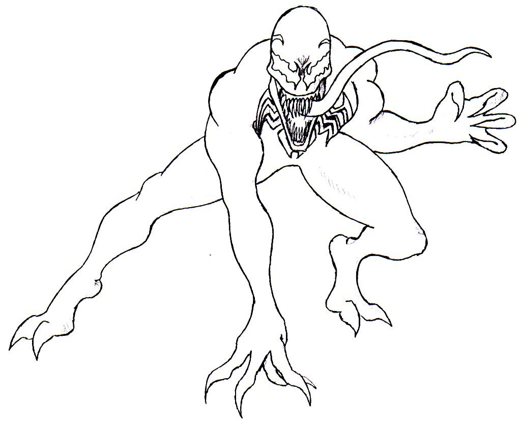 1024x837 Successful Venom Coloring Pages To Print Com Ribsvigyapan