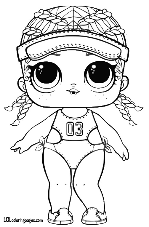 503x766 Spike Lol Doll Coloring Page Lol Surprise Doll Coloring Pages