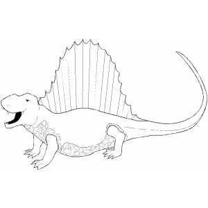 Spinosaurus Coloring Pages Printable