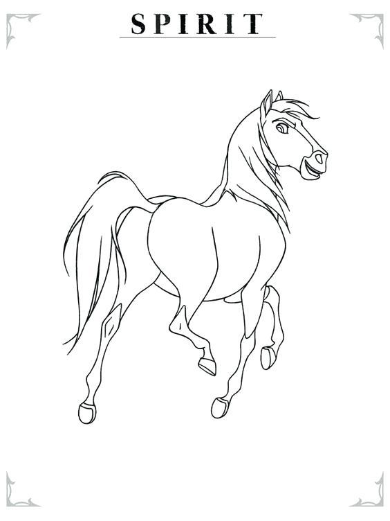 564x752 Spirit Stallion The Cimarron Coloring Pages Spirit Stallion