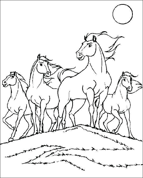 602x747 Spirit Horse Coloring Pages Coloring Pages Spirit The Wild Horse