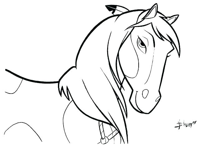 642x473 Spirit Horse Coloring Pages Spirit Horse Coloring Pages To Print