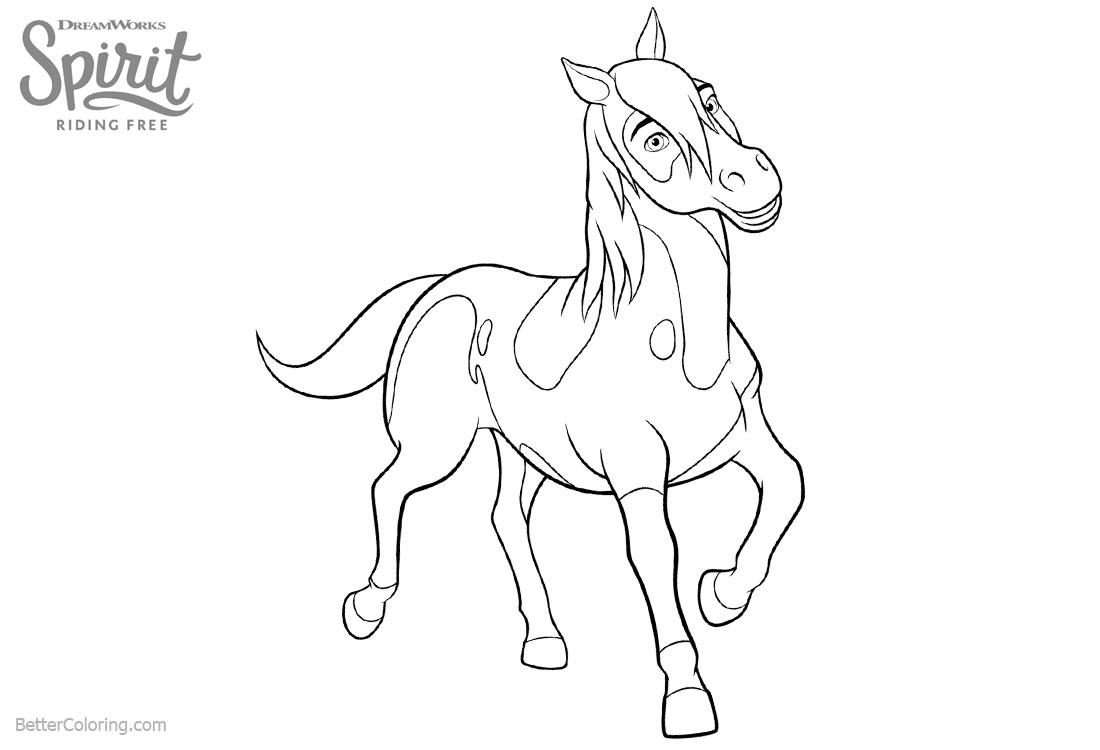 1100x750 Spirit Riding Free Horse Coloring Pages Boomerang Printabl
