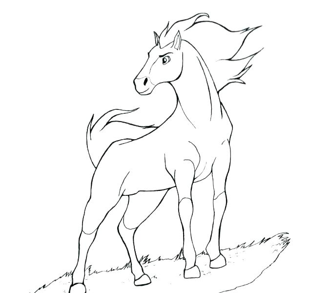 678x600 Spirit The Horse Coloring Pages Spirit Horse Coloring Pages Spirit