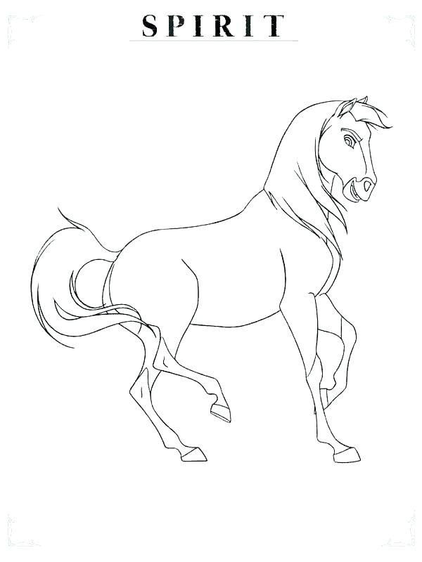 600x800 Spirit Stallion Of The Cimarron Coloring Pages How To Draw Spirit