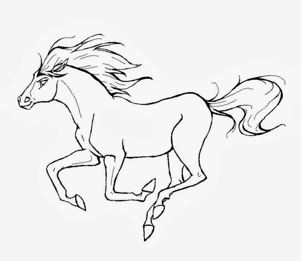 960x832 Spirit Stallion Of The Cimarron Coloring Pages Printable Images