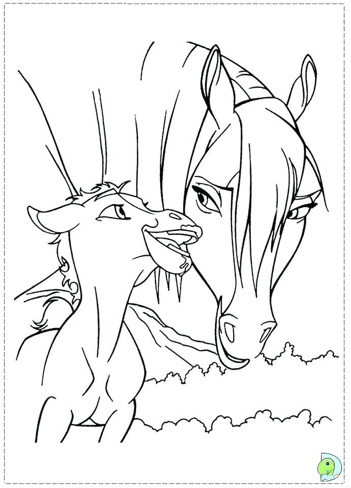 691x960 Spirit Stallion The Cimarron Coloring Pages Spirit Stallion