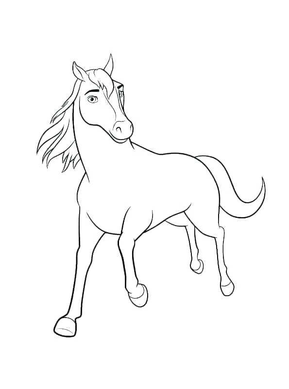 595x800 Spirit Stallion Coloring Pages New Spirit Stallion