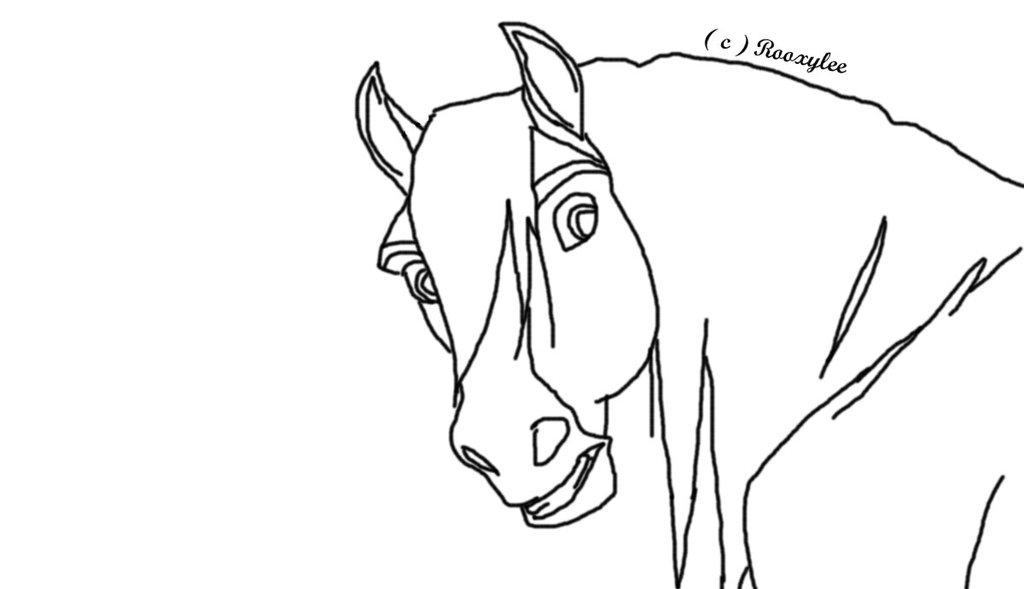1024x589 Clip Art Spirit Stallion Cimarron Coloring Pages Printable