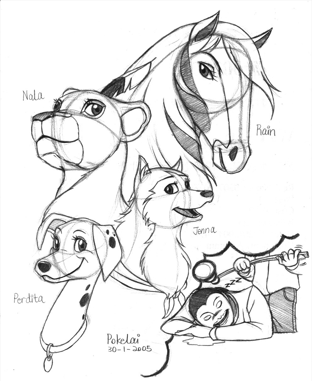 Spirit The Movie Coloring Pages at GetDrawings | Free download