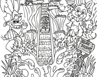 340x270 Its A Small World Coloring Page Digital Download Disney