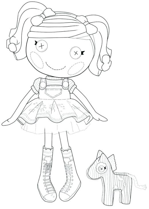 520x728 Lalaloopsy Littles Coloring Pages