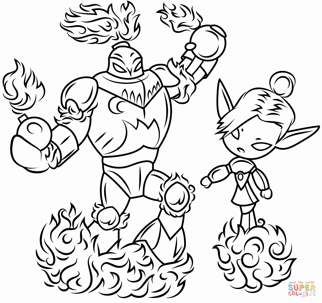 Splash Mountain Coloring Pages