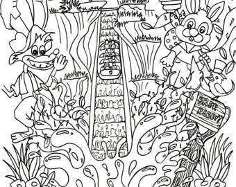 340x270 Disney Splash Mountain Coloring Pages