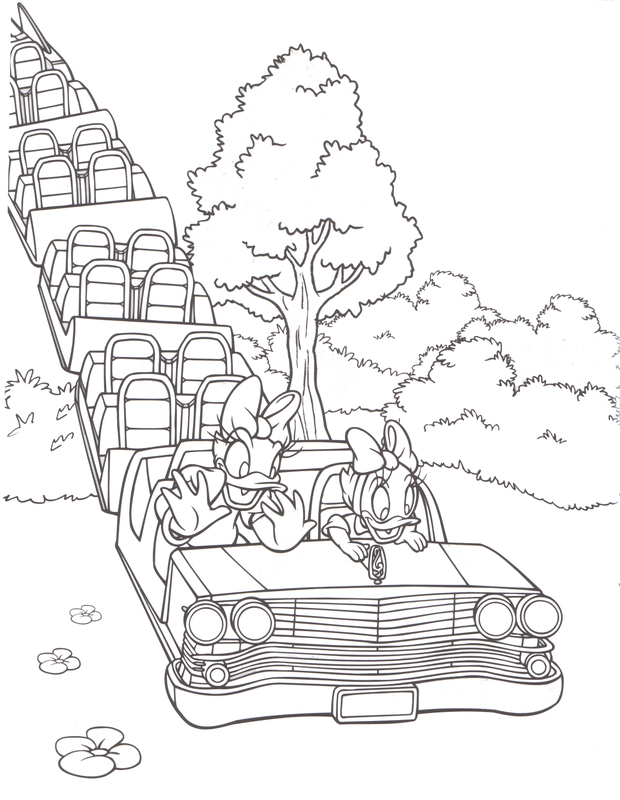 620x800 Disney World Coloring Pages
