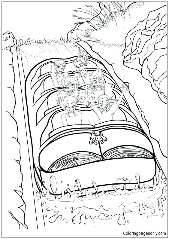 563x795 Mountain Coloring Page Mountain Coloring Page Splash Mountain