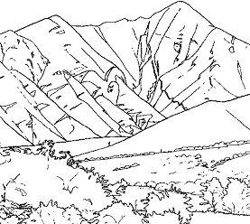277x248 Splash Mountain Coloring Page