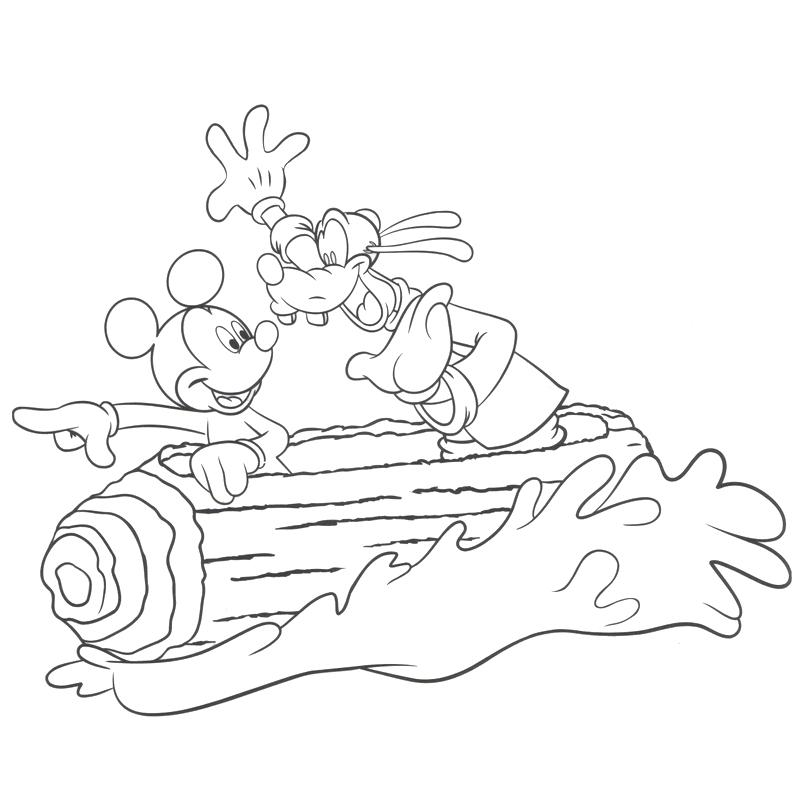 800x799 Splash Mountain Coloring Pages