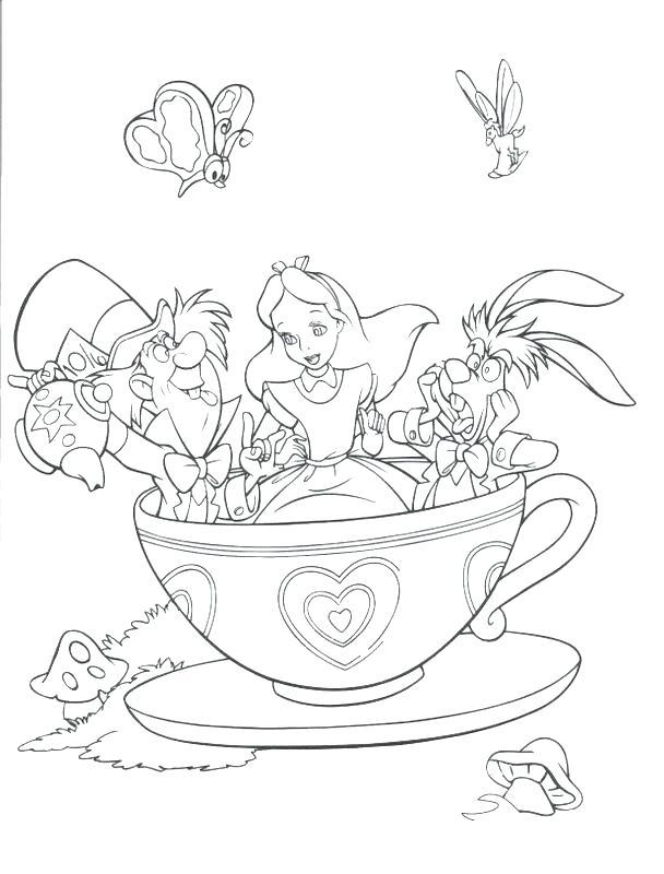 608x800 Disney Castle Coloring Pages
