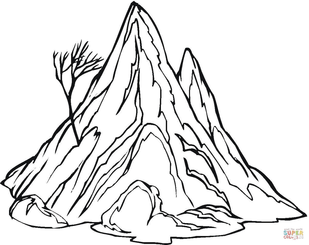 1200x951 Confidential Free Coloring Pages Of Mountains