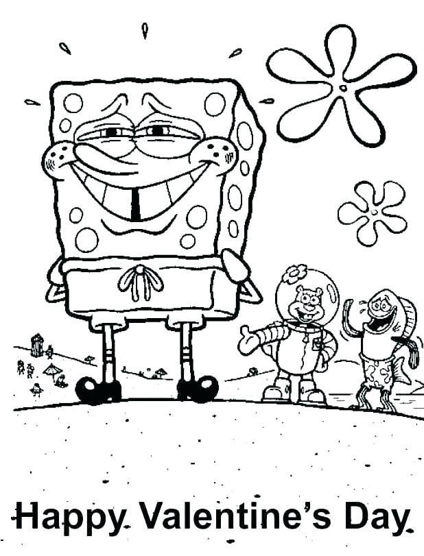 618x811 Sponge Bob Coloring Page Coloring Coloring Book Coloring Spongebob