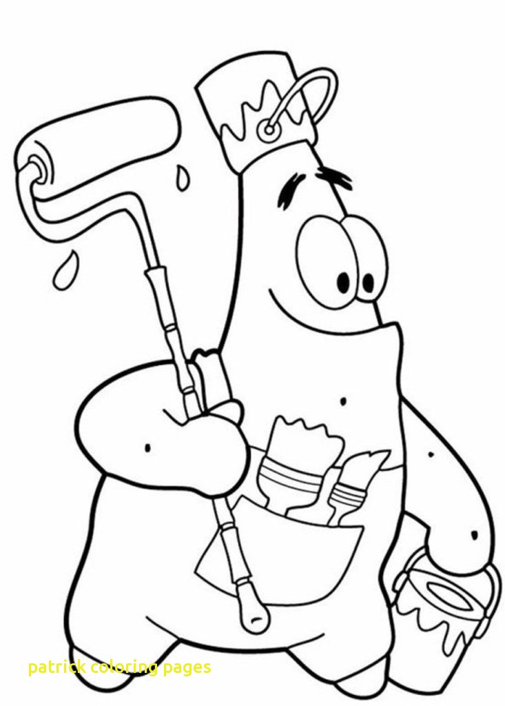 733x1024 Patrick Coloring Pages With Funny Patrick Star Coloring Pages
