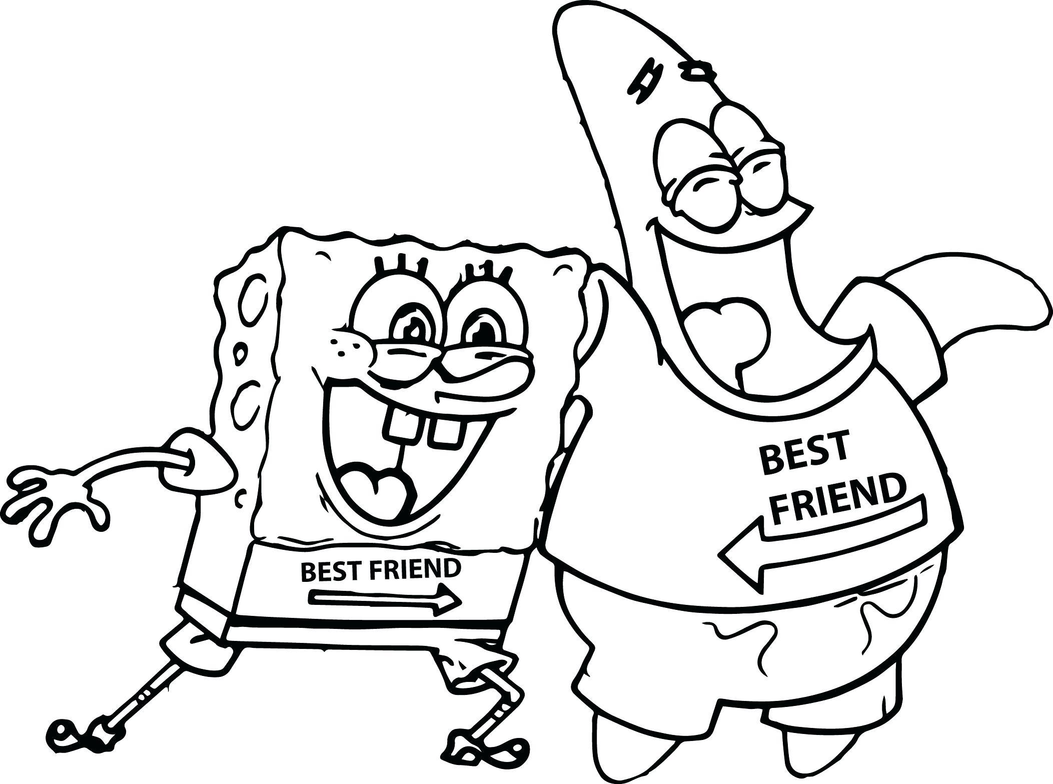 2105x1567 Cartoon Coloring Pages Spongebob Patrick Star New