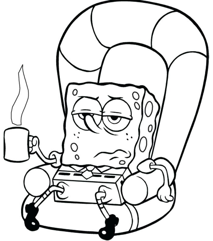 700x791 Coloring Pages Spongebob Coloring Pages Christmas Coloring Pages