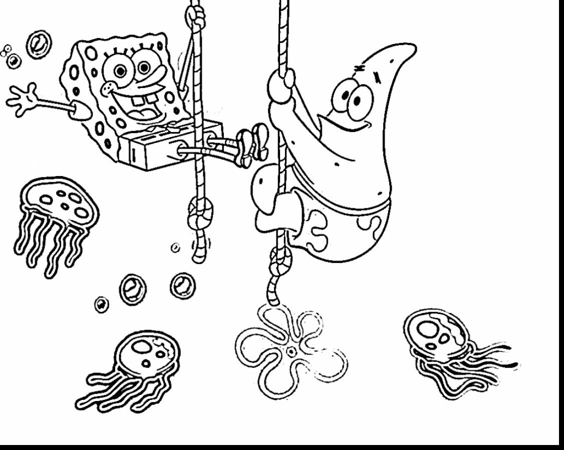 Spongebob Coloring Pages Games