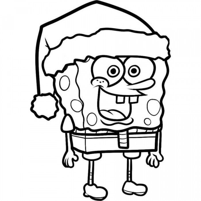 700x700 Free Printable Spongebob Squarepants Coloring Pages For Kids